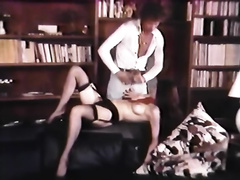 Horny and impure floozy with precious butt acquires fucked on the daybed