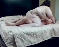 My chunky Married slut jumps on my prick and doesn't crave to stop