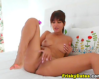 Teen Finger Fucking her Tight Pussy