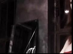 Sensual redhead mommy enjoys dominating a man in BDSM scene