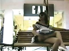 Outdoor video with my sassy ex girlfriend flashing her muff