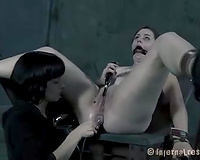 Chubby whore acquires her wazoo gap toyed by her goddess