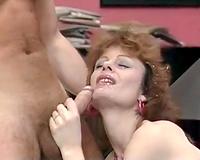 Slutty and whorish sweetheart got her taut gazoo aperture permeated hard
