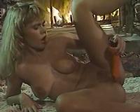 Retro porn compilation with 2 rapacious blond honeys