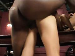 Breath-taking interracial sex scene with carnal Asian harlot