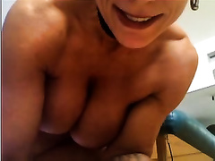 Watch me toying my pierced love tunnel to orgasm indoors