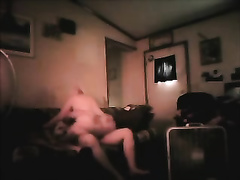 Hidden web camera in my room catches concupiscent granny riding my pecker