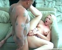 Pretty juvenile white cheating wife boned by dark weenie