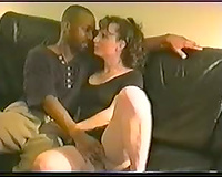 Husband recording his cute housewife with dark paramour that babe indeed slutty