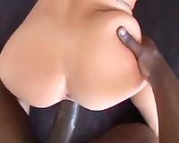 Interracial POV hardcore stars Rebeca Linares