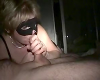 Banging my aged slutty wife in the shaved muff 'cuz I am her sex thrall