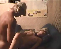 Wild and steamy fuck with my miniature American girlfriend