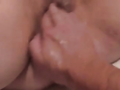 My horn-mad boyfriend eats out and fists my soaking moist love tunnel