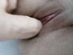 Here is my bawdy cleft and very real rubber penis in it unfathomable