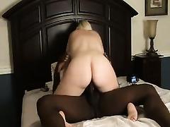 BBW black cock sluts bounces her huge booty on monster BBC
