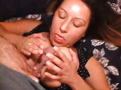 My ravishing big beautiful woman slutwife receives her large pantoons drilled and gets biggest facial