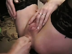 Spoiled dude of mine was fisting backdoor of his gorgeous girlfriend