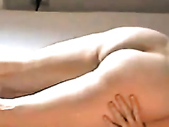 Passionate French girlfriend riding my dong in a cowgirl position