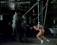Asian hostage babe got her twat and anus drilled indeed hard