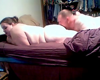 Juicy big beautiful woman white girlfriend and I on our sex home clip