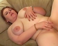 Chubby playgirl loves to acquire banged in her gazoo hole