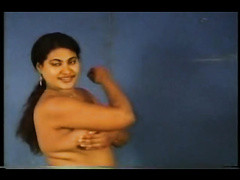 Hot and playful Indian wifey stripping and showing off