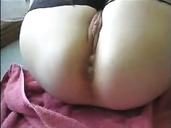 Fucking my dainty babe's pink chocolate hole with creampie at the end