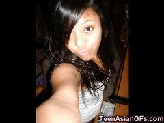 Teenie Asian Cheerleader GFs!