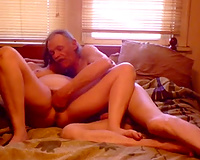 My elderly hubby fingers my fur pie previous to fucking it unfathomable and hard