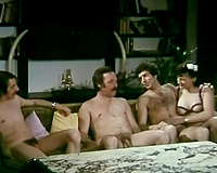 Three dudes and 3 beauties take measurements from every other