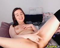 Cute Sexy Teen Play her Tight Pussy