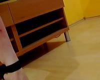 Short haired and recent Czech cutie masturbates on webcam