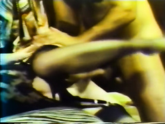 Brunette and golden-haired allies are fucked by 2 shaggy men