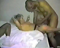 Interracial trio with my curvaceous British wife