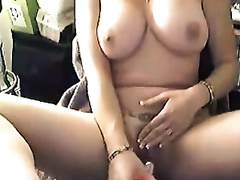 All alone anon livecam dilettante lustful babe used dildo to polish her snatch