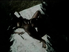 A Black Couple Wanna Fuck Right In An Open Green Field