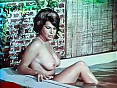 Retro erotic compilation with 2 breasty short-haired babes