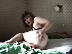 Messy haired wild black cock sluts of my neighbour is loud whilst masturbating