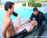 Incredible Heather Braeden getting pushed hard in the arse
