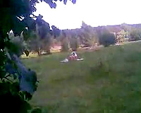 Spying on my neighbor's curvy cheating wife taking sun baths naked