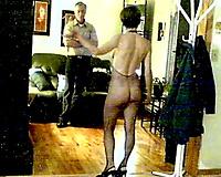 Torrid slutwife meets me after work wearing fishnet bodysuit at the hall