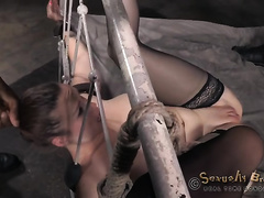 Grand BDSM act with hawt European sweetheart Bella Rossi