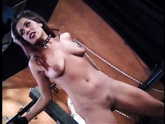 Gorgeous black cock sluts with merry boobs is a sex thrall for freaky cougar
