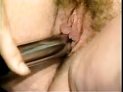 Sexy milf with shaggy cum-hole desires to engulf a tiny knob