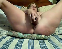I fuck my vagina in recent homemade video