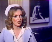 Nurse felt also excited so this babe sucked her patient's penis