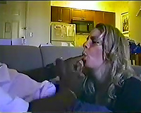 Amateur blonde hooker lastly getting ball batter in her face hole