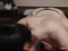 Amateur with Huge Boobs Goes Professional