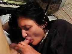 Ugly woman licking and engulfing my schlong balls unfathomable