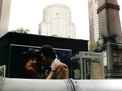 Busty dark brown female-dominator has shameless public sex at a daytime